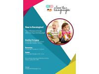 Language classes for children - Kensington