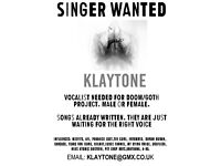 Vocalist Wanted Doom Metal Goth