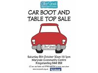 Car boot sale, Sat 8th October, Maryvale Community Centre