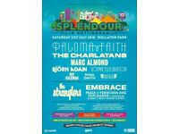 Splendour adult ticket sat 21 july 2018