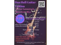 Acoustic/Electric Guitar Lessons in South Manchester, M32, Beginners Welcome!