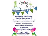 Spring into Action Volunteering Event Fareham Come along!