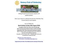 Join The Rotary on Tees Challenge for charity