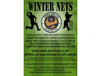Springhill Cricket Club, Penn, Wolverhampton - nets sessions for players of all abilities