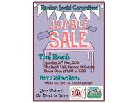 Jumble Sale, Stanton St Quintin