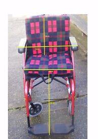 Used light weight wheel Chair Karma S-Ergo 115