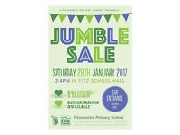 Jumble Sale in January!