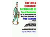 Handyman Dave, Prompt, friendly, professional Handyman service