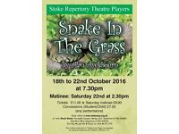 Snake in the Grass at the Stoke Repertory Theatre