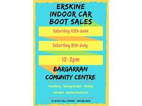 Erskine Indoor Car Boot Sale