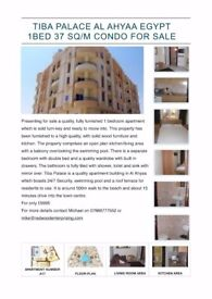 Tiba Palace Fully furnished 37 s/m 1 bedroom apartment in Al Ahyaa Hurghada Egypt