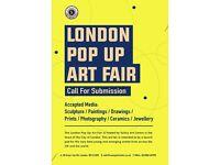 Open Call - London Pop Up Art Fair