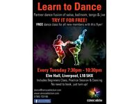 Learn to Dance @ Ceroc Liverpool -Every Tuesday Night