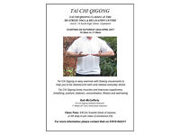 TAI CHI QIGONG CLASSES