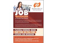 JOB VACANCIES***HOME CARE ASSISTANTS/CARERS NEEDED***POTTERS BAR
