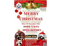 You're invited to a 'Merry Little Christmas Charity Concert' in Aid of U SUPPORT Children's Charity