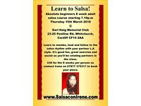 8 week beginners salsa course in Cardiff