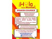 SPANISH COURSES OPEN EVENTS 2016/2017