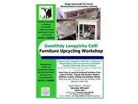 Furniture Upcycling Workshop in Abergavenny