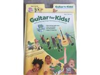 Learn to play guitar book + cd for kids age 5+