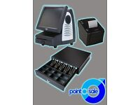 Touch Screen EPOS Till System Starter Kit w/Fully Licensed Software - Fast Food & Takeaway