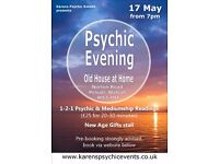 Psychic Fayre at the Old House at Home Pelsall on 17 May