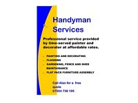 HANDYMAN AND HOME CLEANING SERVICE!!!!