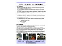 ELECTRONIC TECHNICIAN (WITH GOOD PROSPECTS)