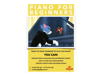 Piano lessons for beginners - Bournemouth