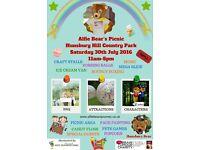 Alfie Bears Picnic in the Park