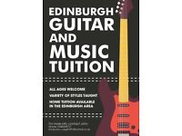 Private Guitar and Music Lessons in Edinburgh - Tailored to suit your interests!