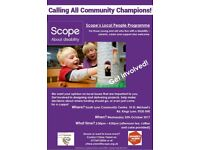 Scope Community Engagement Event