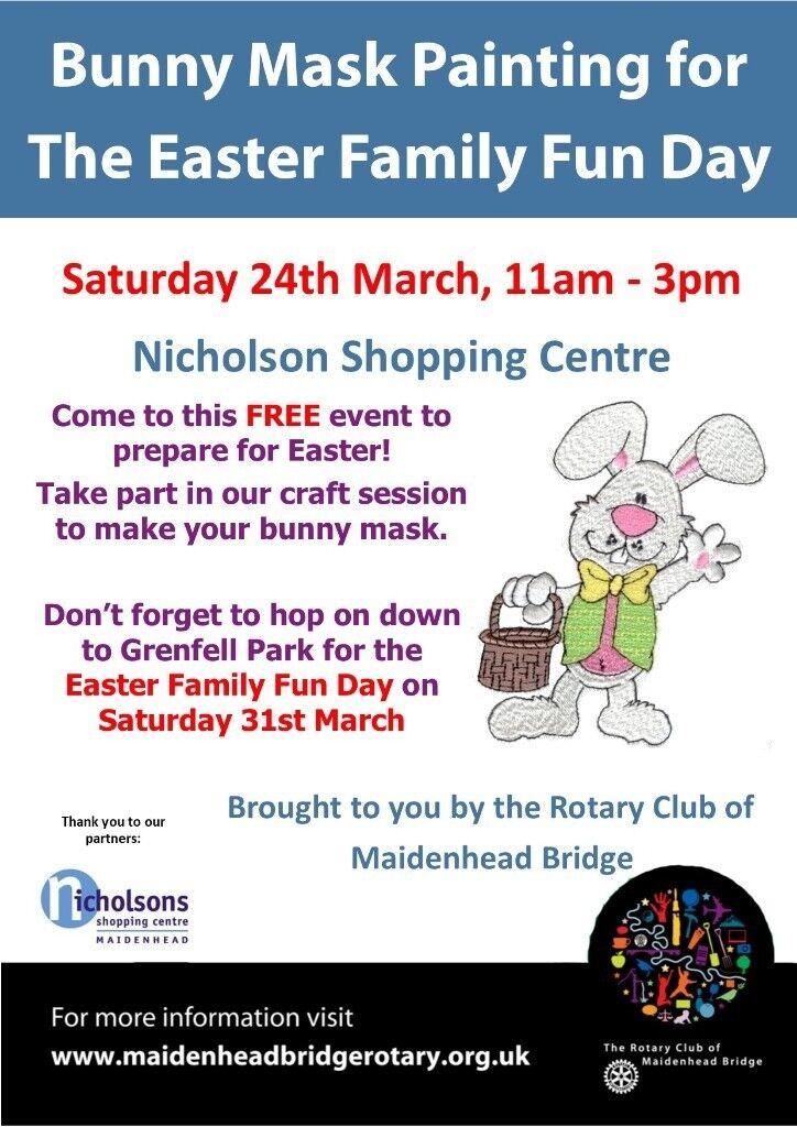 Bunny mask making in maidenhead berkshire gumtree bunny mask making negle Gallery