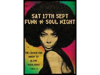 Funk 'n' Soul Night at The Lounge Bar, Alton