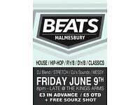 BEATS malmesbury club night!