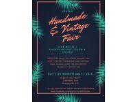 Handmade & Vintage Fair