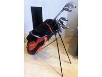 Mitsushiba Half Set of golf clubs, used once. Perfect condition.