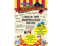 Halesowen Carnival, music, food & drink festival. We are after craft stall holders for event