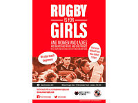 Rugby is for girls! - Millwall Venus recruiting