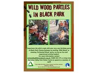 Wild Wood and Enchanted Wood Birthday Parties at Black Park!
