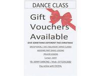NEW YEAR JIVE & WALTZ & QUICKSTEP DANCE CLASSES