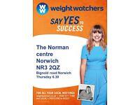 New weight-watchers meetings Norwich