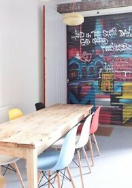 Amazing workspace available for hire in this Manchester home office