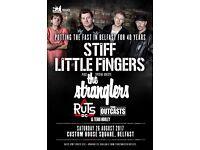 Stiff Little Fingers, Custom House Square, Belfast