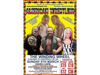 *** AMERICAN WRESTLING TICKETS ***