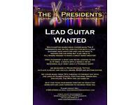 The X Presidents seek Lead Guitarist