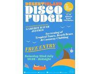 Desert Island Disco Fudge