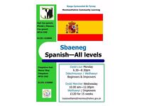 Spanish Classes - All Levels