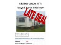TOWYN EDWARDS LEISURE PARK 8 BERTH [EDWJHU]
