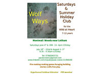 Wolf Ways, Summer Outdoor Holiday Club for 7 -12 year olds